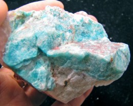 1000 CTS  LARGE SIBERIAN  AMAZONITE ROUGH  MYGM 1761