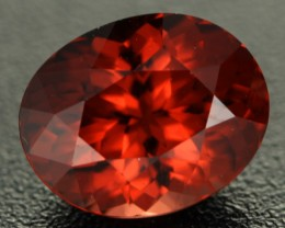 3.37 cts Orangy Red Malaya Garnet Unique Colour (RG147)