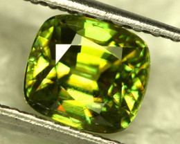 1.70 cts Yellow / Green Sphene (Titanite) (RSP22)