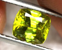 1.52 cts Yellow / Green Sphene (Titanite) (RSP23)