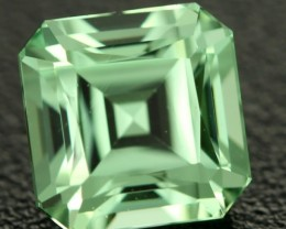 CERTIFIED 1.38 cts Mint green Grossular garnet - Merelani (GMI8)(110401805)
