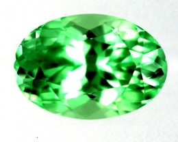 0.89 cts Mint green Grossular garnet - Merelani (GMI3)