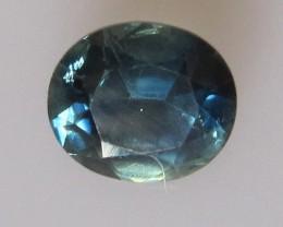 1.35cts Natural Australian Blue Sapphire Oval Cut