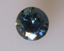 0.77cts Natural Australian Blue Sapphire Round Cut