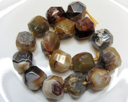 1420 cts Huge Strand Agate Beads   GG1638