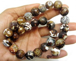 460 cts Strand  15x15 mmAgate Beads    GG16