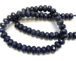 300 CTS  QUARTZ FACETED 12 MM BEAD STRAND   GG 1649