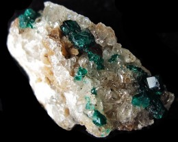 36.20CTS RARE EMERALD GREEN DIOPTASE FROM KAZAKHSTAN MGW4049
