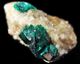 8.50 CTS RARE EMERALD GREEN DIOPTASE FROM KAZAKHSTAN MGW4066