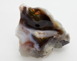 345.2ct Brown Freeform Mexican Fire Agate (MA05)