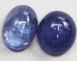 3.8Cts  parcel Cabochon Chatoyant Tanzanite gemstone GG 1718