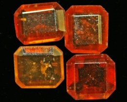 11CTS   4   HESSONITE GARNET 8X6MM  GG1734