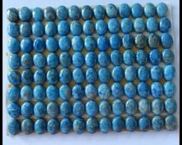 8x6x4mm Lapis Lazuli Cabochons Set,47.88g
