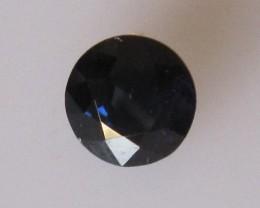 1.20cts Natural Australian Blue Sapphire Round Cut