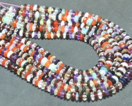 "6 to 6.5mm 16"" Mixed Gemstone beads AAA German cut MIXB10"