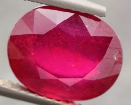 6.04ct Natural RED MADAGASCAR RUBY NO RESERVE $1