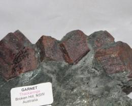 GARNETS IN MATRIX 1.600 grams,  Australia (GR347)