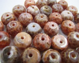 690 Cts Parcel Crazy   Agate Beads   GG 1787