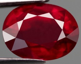 VERY NICE NATURAL TOP BLOOD RED RUBY 2,56 CTS
