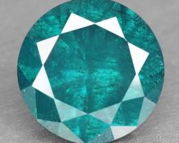 BLUE DIAMOND- 3.6MM,0.20 CTS, 1PC NR