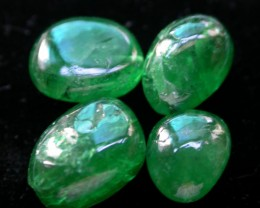 18 CTS TSAVORITE BEAD-NATURAL  -DRILLED [ST8051 ]