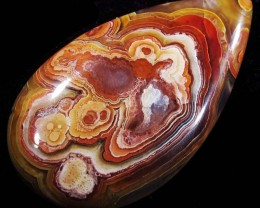 29.65 CTS TOP LAGUNA LACE AGATE FROM MEXICO [ST8082]