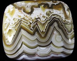 79.25 CTS TOP LAGUNA LACE AGATE FROM MEXICO [ST8103]