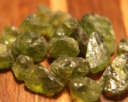 85ctw Ethiopia Peridot Rough Beautiful Cabbing/Specimen