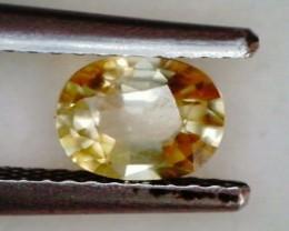 .90ct Bright Sparkling Yellow Zircon, Cambodia VVS THA26 F55