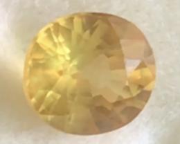 .90ct Bright Sparkling Yellow Zircon, Cambodia -  THA26 F55 G584