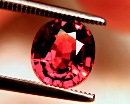 CERTIFIED - 2.49 Ct. IF/VVS1 Fiery Orange / Red Spessartite