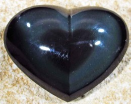 31.80 CTS  RAINBOW OBSIDIAN HEARTS -IRIDESCENCENT [MGW4117]