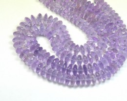 "SALE 7mm 10mm 8"" LAVENDER AMETHYST AAA faceted beads AML008"