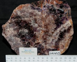 AMETHYST Wave Hill Polished Slice, Australia (GR425)