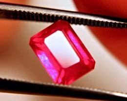 2.24 Carat Fiery Cherry Ruby - Superb