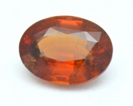 4.3ct Ceylon Certified orange HESSONITE Garnet 11mm VS2 AAA