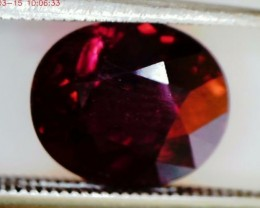 2.45 Pretty Seductive Red  Rubelite Tourmaline VVS A902