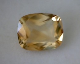 3.35ct Glittering Sunny Yellow Cushion Cut Citrine VVS TH189