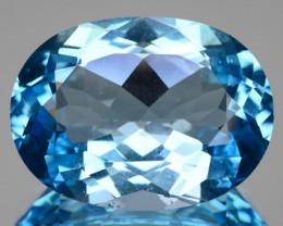 17.32 Cts Natural Brazilian Sky Blue Topaz - GEMEX - NR Auction