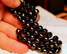 362 Tcw. Magnetic Hematite Strand - 16 Inches