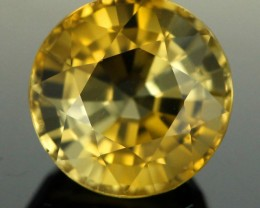 2.65 CTS UNIQUE  CERTIFIED YELLOW TOURMALINE (TMBR11)