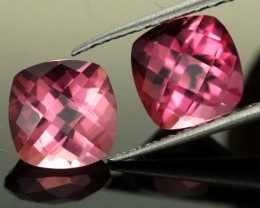 3.44 CTS INTESTNE PINK TOURMALINE PAIR (TMPI38)