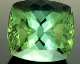 3.74 CTS CERT NEON GREEN TOURMALINE - IDEAL CUT (TMG90)