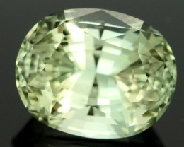 4.03  CTS CERT YELLOW / GREEN TOURMALINE - IDEAL CUT (TMG77)
