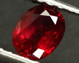 0.71 CTS CERT RED MOZAMBIQUE RUBY - HEAT ONLY (CDR343)