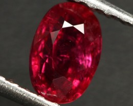 0.95 CTS CERT RED MOZAMBIQUE RUBY - HEAT ONLY (CDR344)
