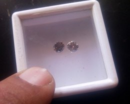 NATURAL BLACKDIAMOND,UNTREATED-0.50CTWSIZE-2PCS