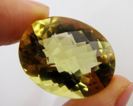 42.35 Cts Large Vibrant  faceted clean Citrine GG 2265