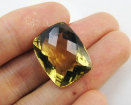 20.45Cts Large Vibrant  faceted clean Citrine GG 2267