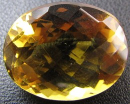 24.8 Cts Large Vibrant  faceted clean Citrine GG 2266